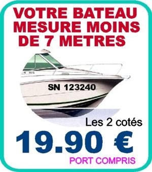 lettre immatriculation bateau ILAPRO   Autocollants, Stickers et Lettrages adhésifs en ligne. lettre immatriculation bateau